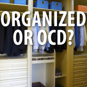 Dr Oz: Am I Super Organized or OCD? Cognitive Behavioral Therapy