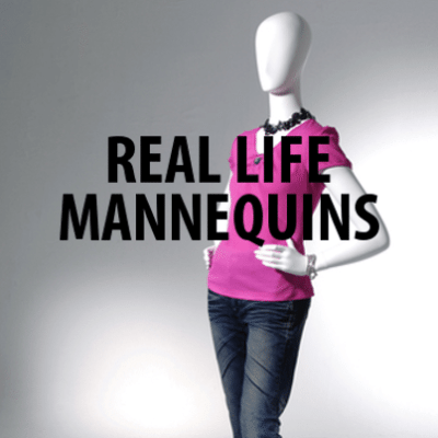 Today Love Your Selfie: Realistic Mannequins + Different Body Types