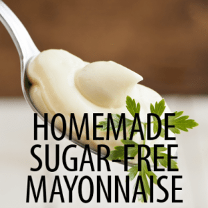 Dr Oz: No-Sugar Mayonnaise Recipe + Year Without Sugar Alias Names