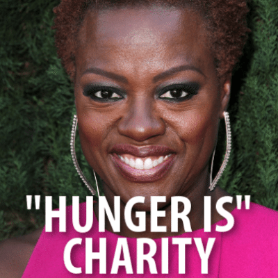 "Ellen: Viola Davis ""Hunger Is"" Charity Campaign & Free Pizza For Life"