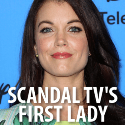 Bellamy Young from Scandal will come by The Chew on May 7, 2015, to talk about the wrap up of the season of the show. (s_bukley / Shutterstock.com)