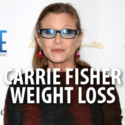 carrie fisher weight loss pictures
