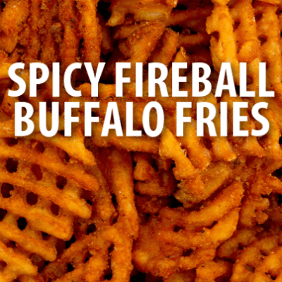 The Chew Guy Fieri Spicy Fireball Buffalo Fries & Guy On Fire Cookbook