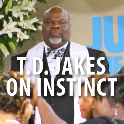 Dr Phil: T D  Jakes Instinct Review & Giving Yourself Permission