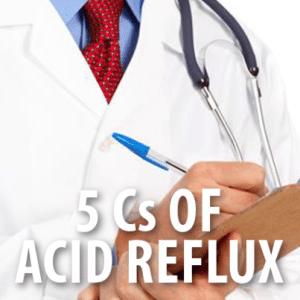 how to fix acid reflux in throat
