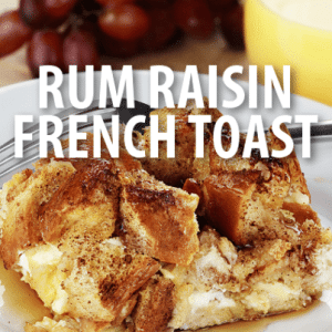 Rachael Ray: Rum Raisin French Toast Recipe with Maple Bananas Foster