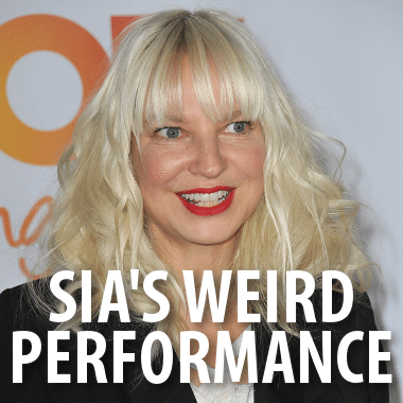 Ellen sias chandelier live performance sia music video review ellen sia chandelier performance review aloadofball Image collections