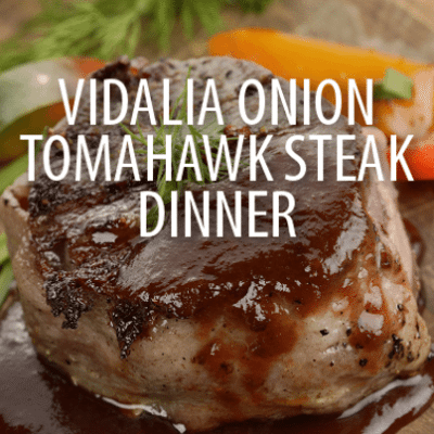Farm-To-Table: Marc Forgione Vidalia Onion Tomahawk Chop Steak Recipe