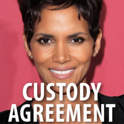 Today: Halle Berry Custody Agreement + Sandra Bullock Protective Order