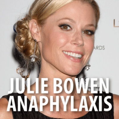 "Ellen: ""Modern Family"" Julie Bowen + Anaphylaxis Awareness"