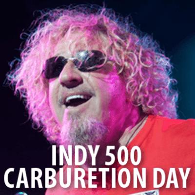 Letterman: Todd the Intern, Indy 500 Carburetion Day + Sammy Hagar