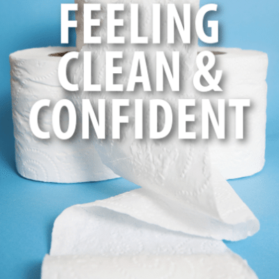 The Talk: Cottonelle Cherry Healey + How To Feel Clean & Confident