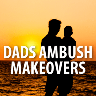 Today: Dad Makeover, Men's Wearhouse & Retro Hair Styles Are Back?