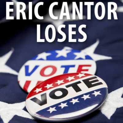 David Letterman: Top Ten Eric Cantor Excuses + Hillary Clinton