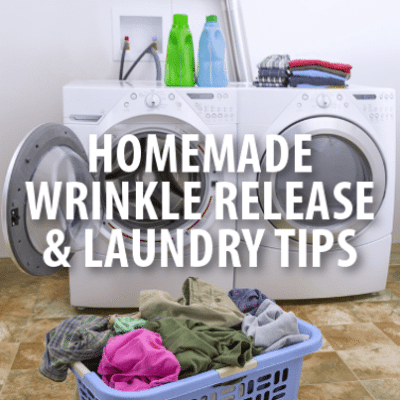 Kathie Lee & Hoda: Homemade Wrinkle Release + How to Wash Delicates