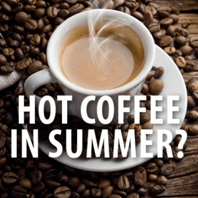 GMA: Monty Python Reunion & Why We Drink Hot Coffee in the Summer