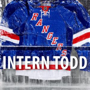 David Letterman: Intern Todd Rangers Game at Madison Square Garden