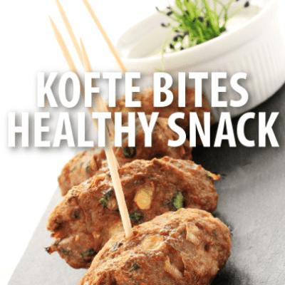 The Chew: Dr. Oz & Daphne Oz Kofte Bites with Yogurt-Honey Dip Recipe