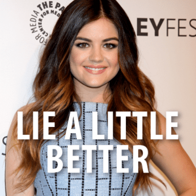 Kelly & Michael: Lucy Hale 'Pretty Little Liars'