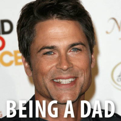 Today: Rob Lowe Fatherhood, Raising Kids & Having An Absent Father