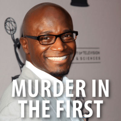 Today: Taye Diggs Murder In The First & Following 45,000 On Twitter