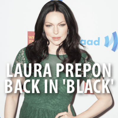 Laura Prepon came by The Chew to talk about the second season of her show Orange Is The New Black and to whip up a Grilled Vegetable Salad with Citrus Vinaigrette recipe.. (lev radin / Shutterstock.com)