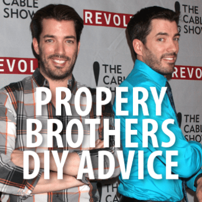 Today: Property Brothers Repairing Cracked Tiles + Cabinet Renovation