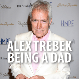 The Talk Who's Your Daddy? Alex Trebek Jeopardy & Shaved Moustache