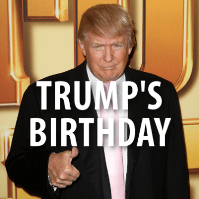 David Letterman: Donald Trump Turning 69 + Radio Shack Closing