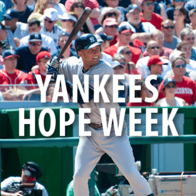 Today: Justin Willoughby Major Weight Loss + Yankees Hope Week