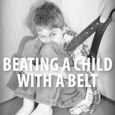 Dad Forces Daughter To Lick The Bathroom Floor & Beats Her With Belt