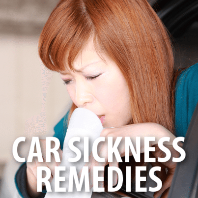 how to get rid of car sickness