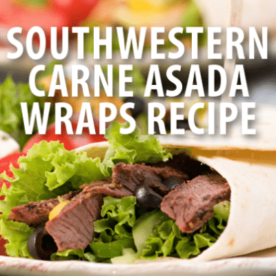 Wendy Williams: Sunny Anderson Southwestern Carne Asada Wraps Recipe