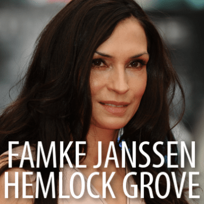 Talk: Famke Janssen Hemlock Grove, Goldeneye & Meeting Prince Charles