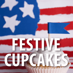 Today Show: Martha Stewart Red, White and Blue Mini Cupcakes Recipe