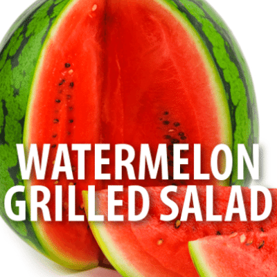 Kelly & Michael: Alton Brown Grilled Watermelon Salad