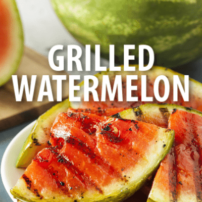 Superstar Chef Alton Brown Farm-To-Table Grilled Watermelon Salad