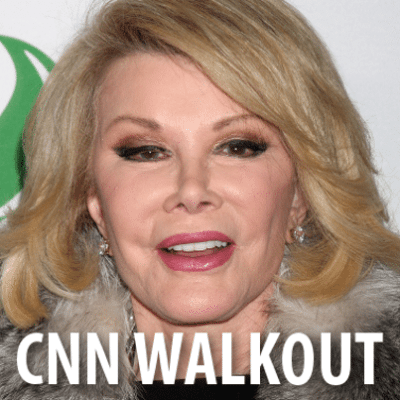 The Talk Joan Rivers Diary of a Mad Diva, CNN Walkout & Obama Comments