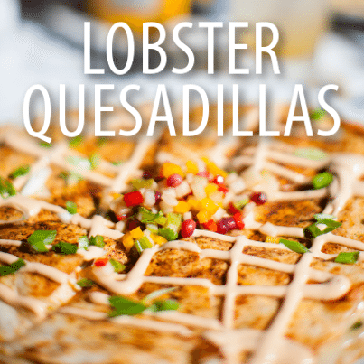 Kathie Lee Hoda Today Show Cousins Maine Lobster Quesadillas Recipe