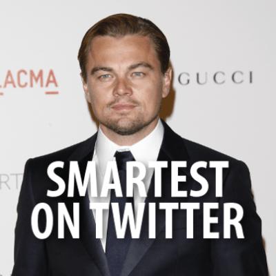 Leonardo DiCaprio Smartest Man on Twitter + Macklemore Special Lady