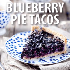 Good Morning America: Buzzfeed Blueberry Pie Tacos Recipe