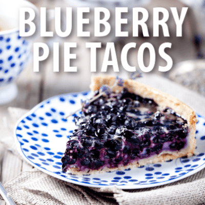 Good Morning America: Buzzfeed Blueberry Pie Tacos Recipe