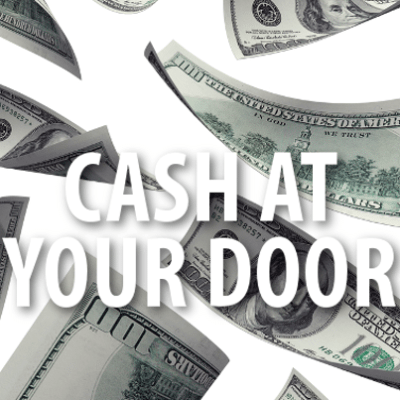 Ellen: Cash At Your Door + Surprise For Disabled Veteran Family