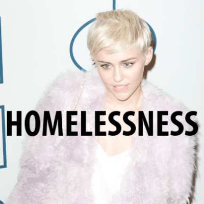 Today: Miley Cyrus Lets Homeless Man Accept Her VMA & Scary Selfie