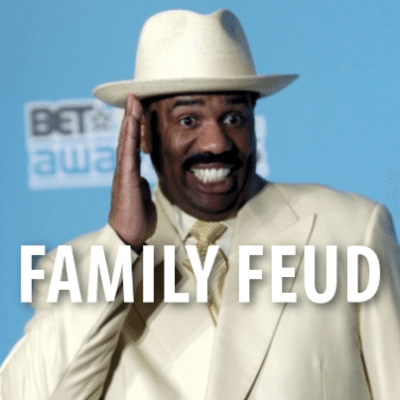 Ellen: Steve Harvey Family Feud + Nicknames For Body Parts