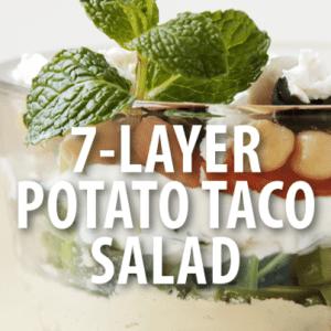 Good Morning America: Buzzfeed BBQ 7-Layer Potaco Salad Recipe
