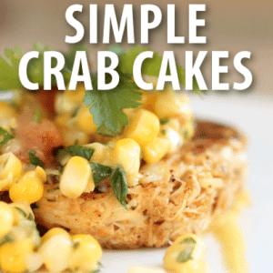 Today Show: Seth Adams Crab Cakes with Corn & Avocado Relish Recipe
