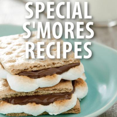 Fruity, Peppermint + PB&J S'mores Recipe, Brownies + S'mores Milkshake