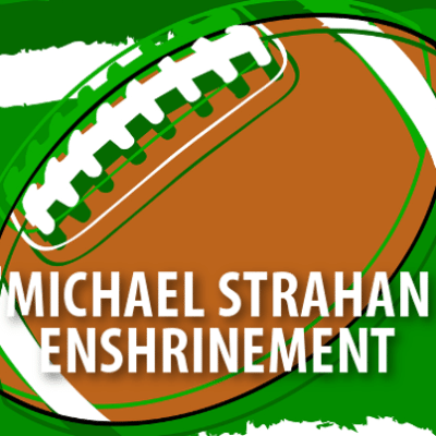 Michael Strahan Football Hall of Fame Induction Behind the Scenes