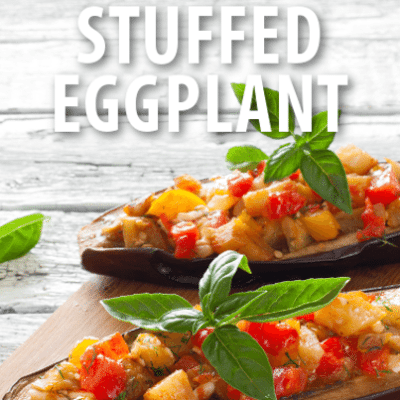 Ellen: Chef Wolfgang's Puck Baked Vegetable-Stuffed Eggplant Recipe